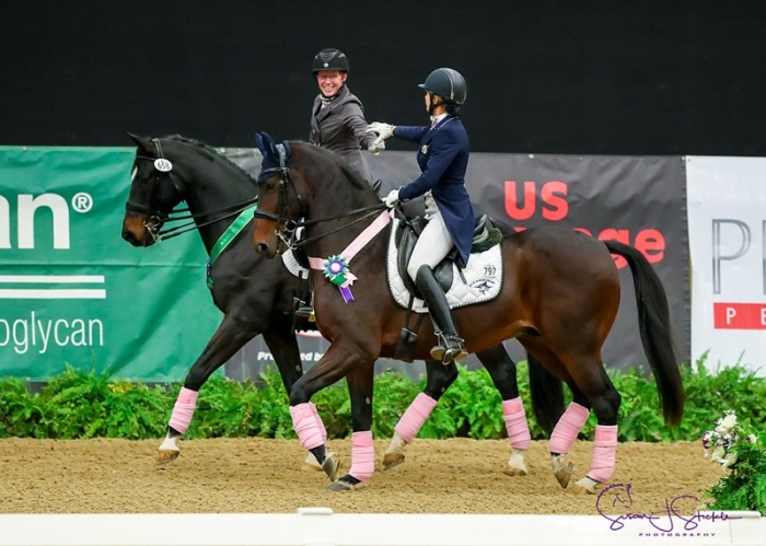 Diamante Farms' Terri Kane Highlights Breast Cancer Awareness with Pink Polo Wraps